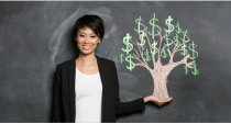 money tree and financial planning